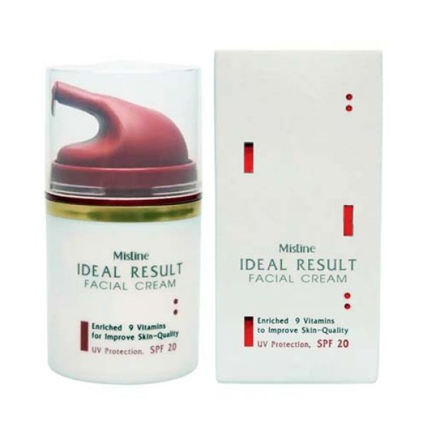 Mistine Ideal Result 9 Benefits Anti-aging Wrinkle Facial Cream SPF 20++  45 g