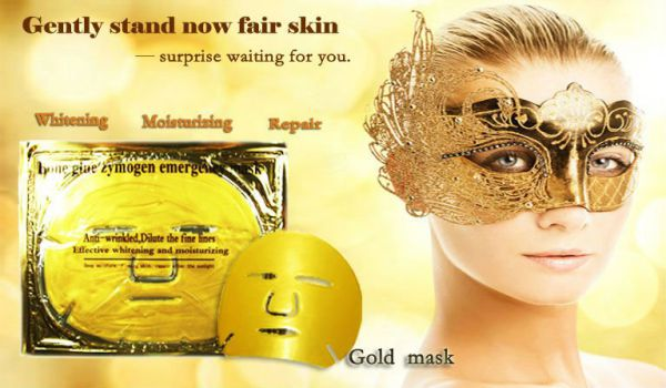 Crystsal Collagen Gold Powder Facial Mask