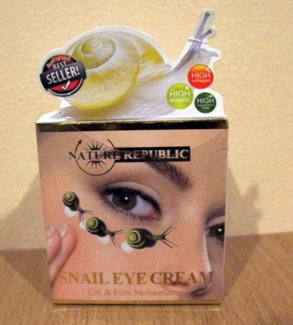 Nature Republic Snail Eye Cream 5г