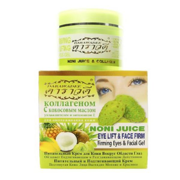 Darawadee Noni Juice Eye Lift&Face Firming Cream 100г +Aloe Vera Soap
