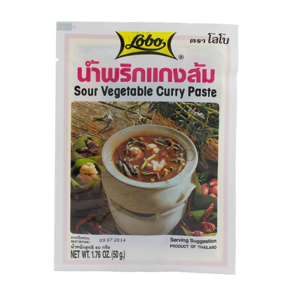 Lobo Sour Vegetable Curry Paste 50г