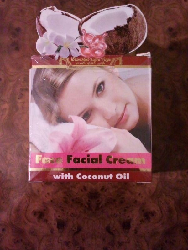 Face Facial Cream with Coconut Oil 50мл