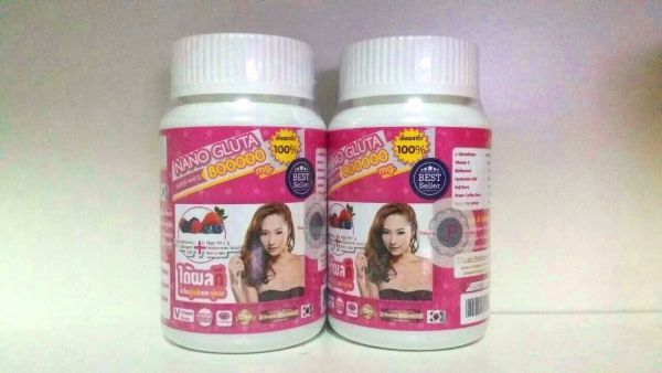Nano Gluta Super White Glutation 800000