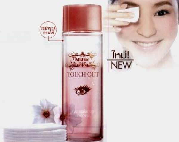 Mistine Touch Out Eye Make Up Remover  100мл