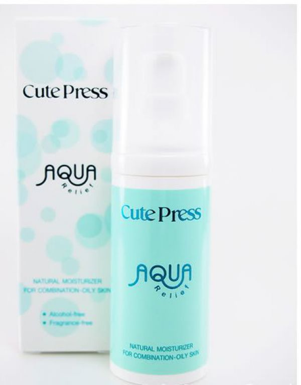 Cute Press Aqua Relief Natural Moisturizer Combination-Oily Skin 30г