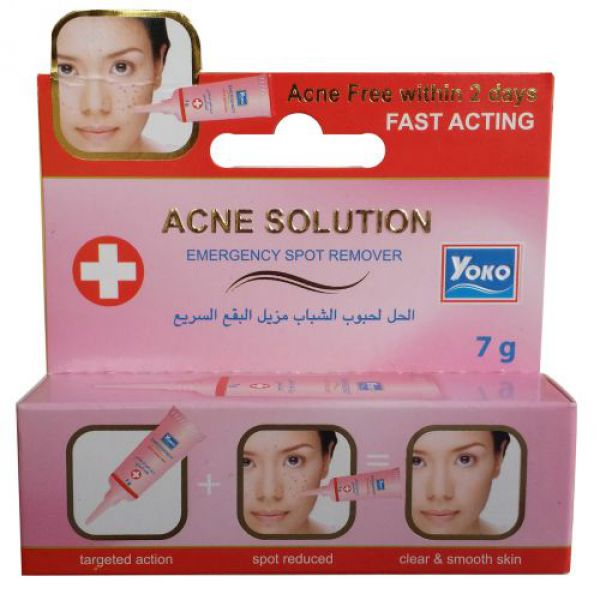 Yoko Acne Solution Emergency Spot Remover 7г