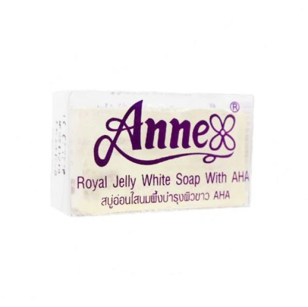 Anne Royal Jelly White Soap with AHA 20g