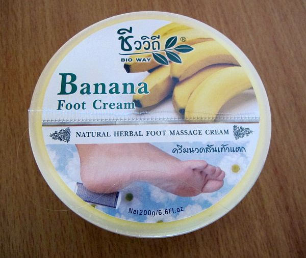 Bio Way Banana Foot Cream  200g