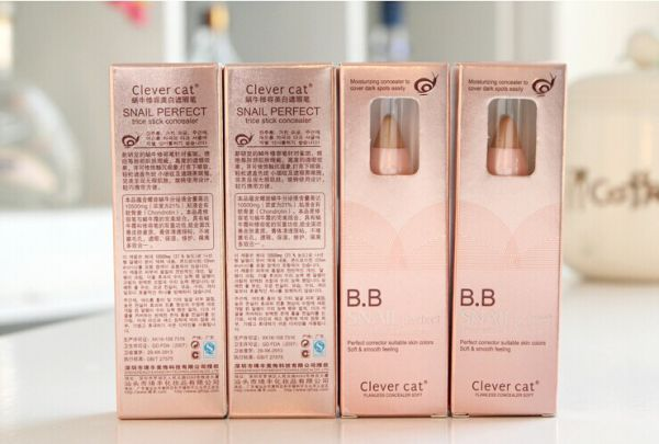 Clever Cat BB Snail Perfect Trice Stick Concealer