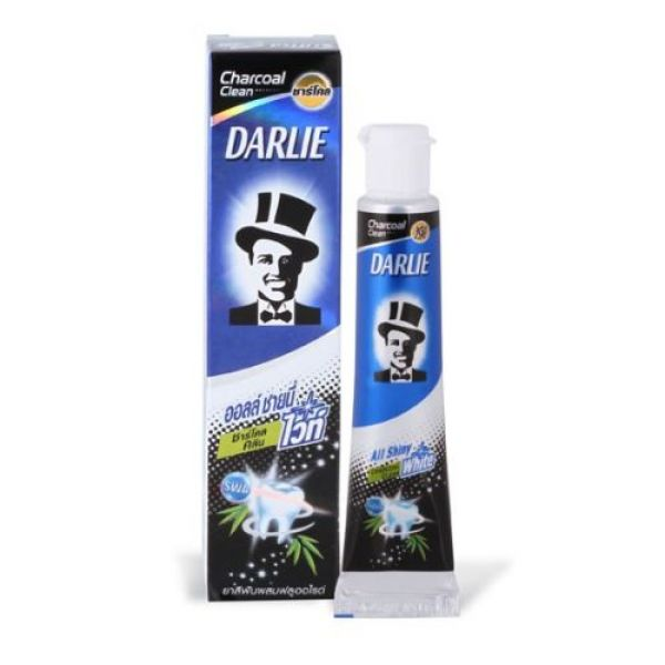 Darlie All Shiny White Charcoal Clean 90гг