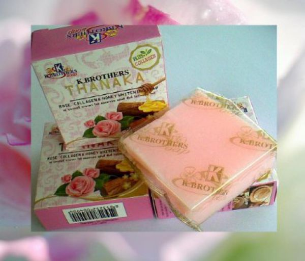 K.Brothers Thanaka Rose Collagen & Honey Soap 60г