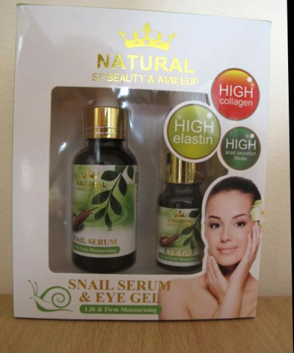 Snail Serum 35ml & Eye Gel 15ml