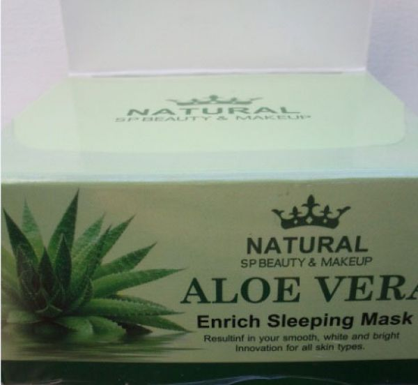 Aloe Enrich Sleeping Mask 100мл