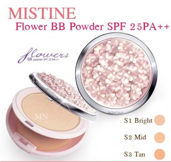 Mistine Flowers BB Powder SPF 25 PA++