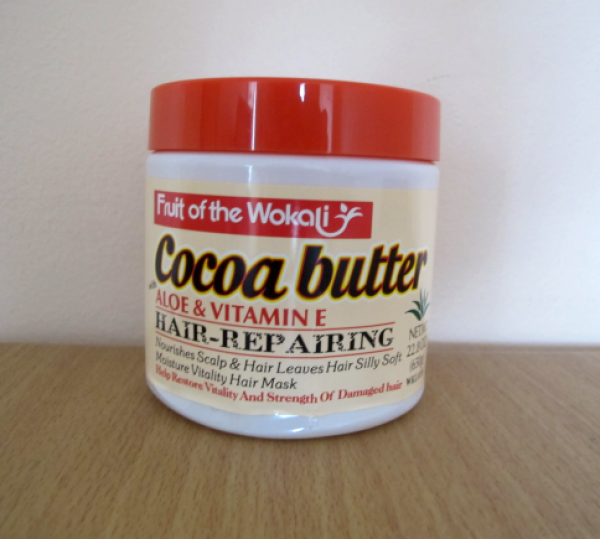 Fruit Of The Earth Cocoa Butter Aloe & Vitamin Е Hair Repairing 650г
