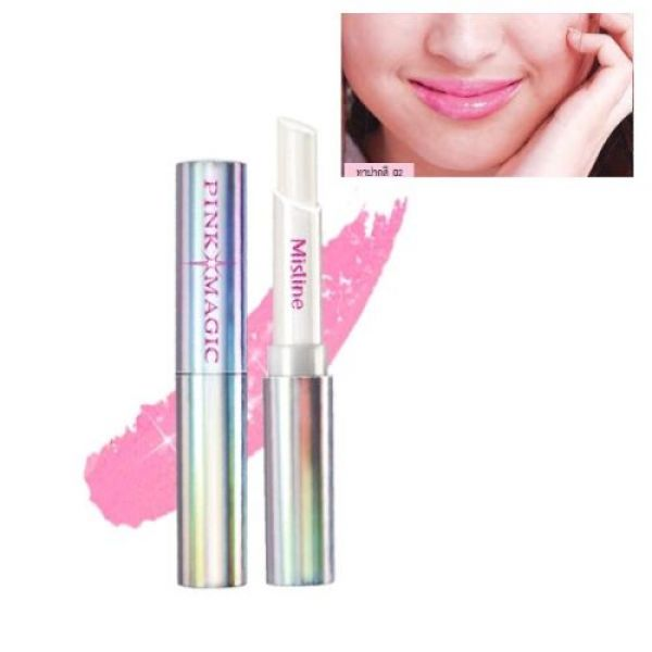 Mistine Pink Magic Diamond Lip pink 02