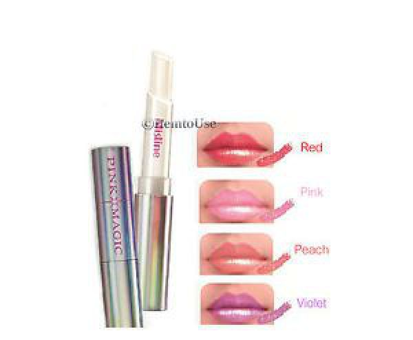 Mistine Pink Magic Diamond Lip red 01