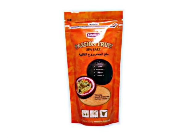 Argussy Passion Fruit Spa Salt  300g