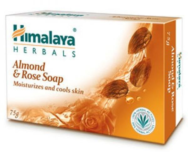 Himalaya Almond & Rose Soap 125г
