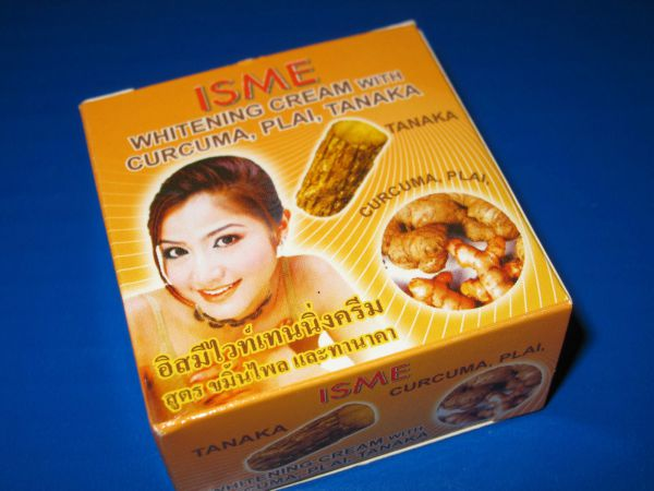 Isme Whitening Cream with Curcuma, Plai, Tanaka 3г