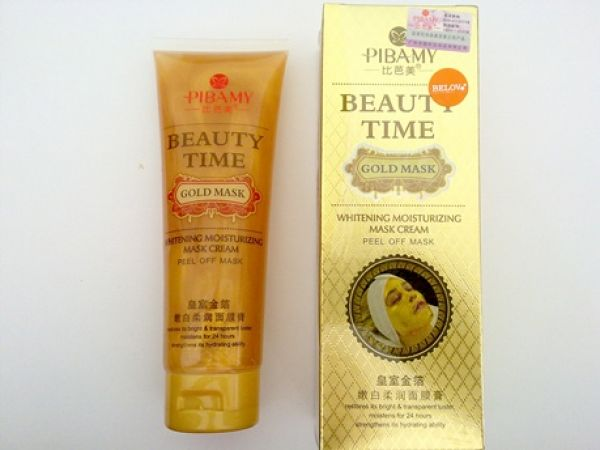 Pibamy Beauty Time Gold Mask 130г