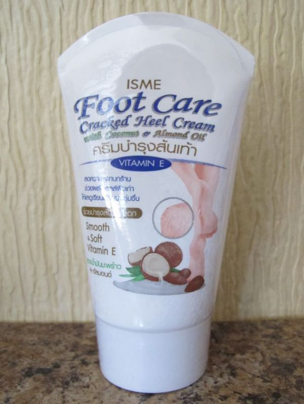 ISME Foot Care Cracked Heel Cream With Coconut & Almond Oil 80g