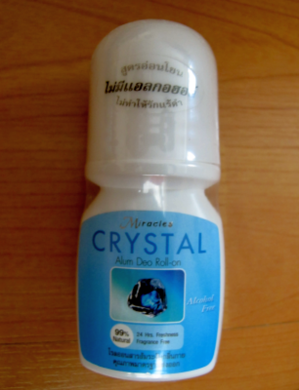 Miracle Crystal Alum Deo Roll 20мл