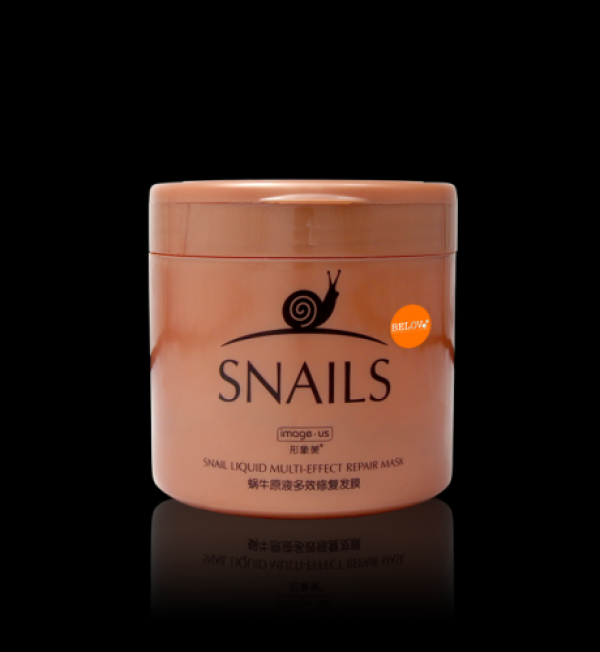 Snail Liquid Multi-Effect Repair Hair Mask  500г