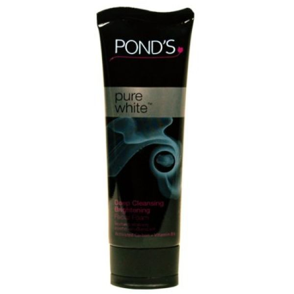 Ponds Deep Cleansing Brightening Facial Foam Charcoal 20г