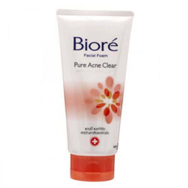 Biore Facial Foam Pure Acne Clear 50г