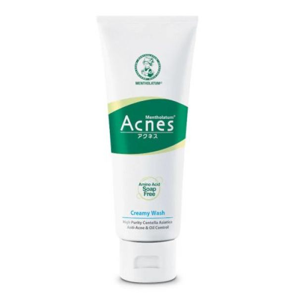 Mentholatum Acnes Anti-Bacterial Creamy Face Wash 50г