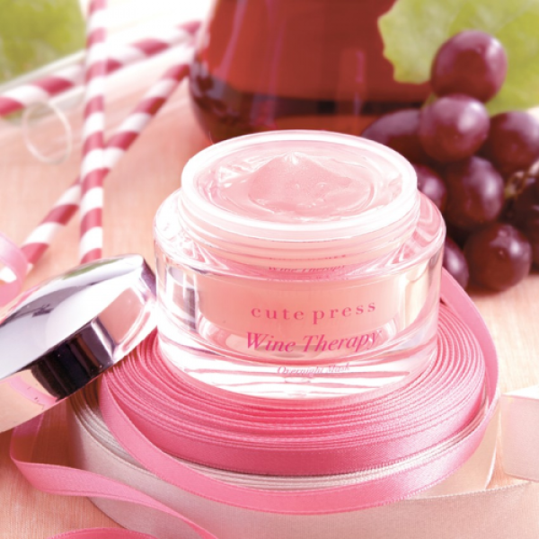 Cute Press Wine Therapy Overnight Mask 50г