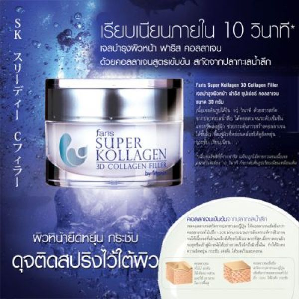 Faris Super Kollagen 3D Collagen Filler 30г