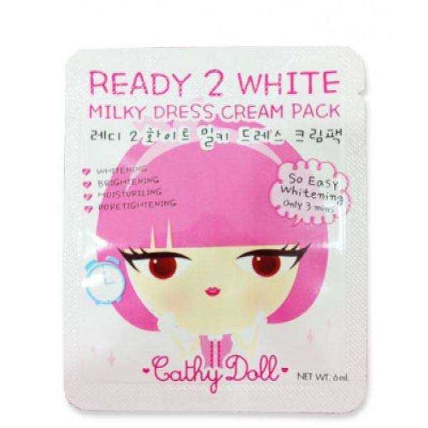 Cathy Doll Ready 2 White Milky Dress Cream Pack 6мл