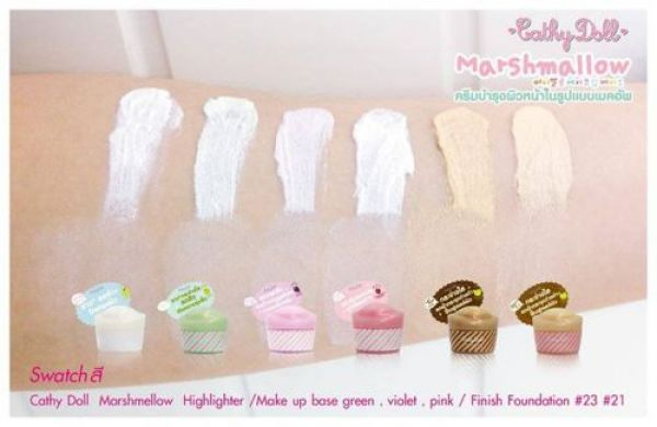 Cathy Doll Marshmallow Make Up Base SPF25 PA+++ 20г