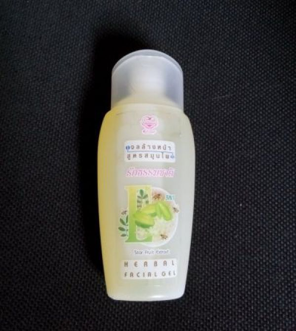 Herbal Facial Gel Star Fruit Extract 100мл