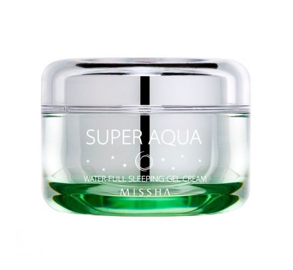 Missha Super Aqua Water-Full Sleeping Gel Cream 47мл