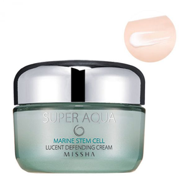 Missha Super Aqua Marine Stem Cell Lucent Defending Cream 50г