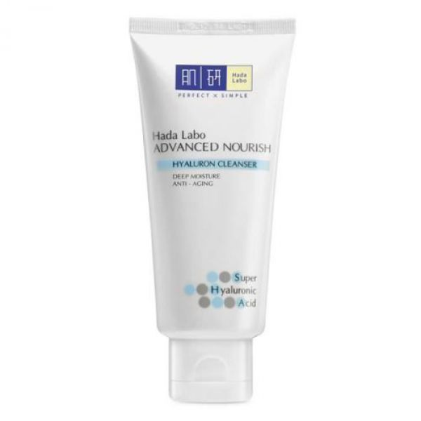Hada Labo Advanced Nourish Hyaluron Cleanser 50г