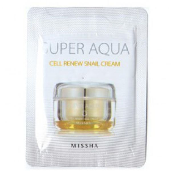 Missha Super Aqua Snail Cream 1,4г