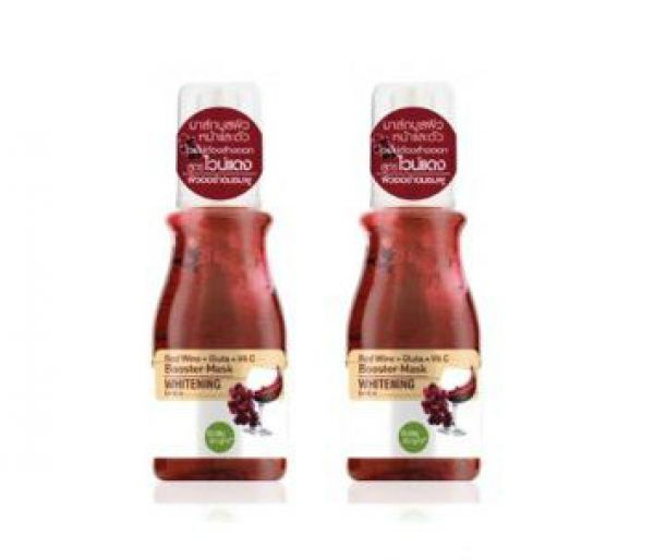 Baby Bright Booster Mask Red Wine + Gluta + Vit C 140мл