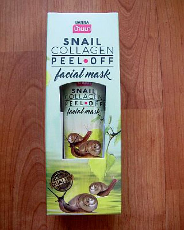 Banna Snail Collagen Peel off Facial Mask 120мл