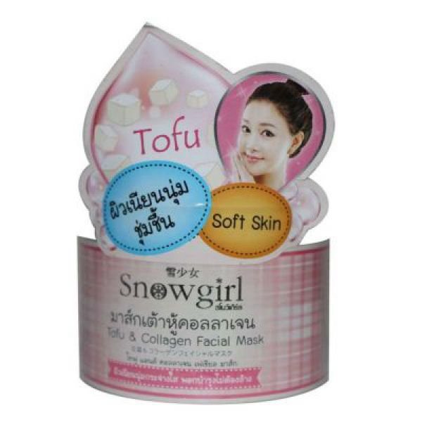 Snowgirl Tofu &Collagen Facial Mask 100г
