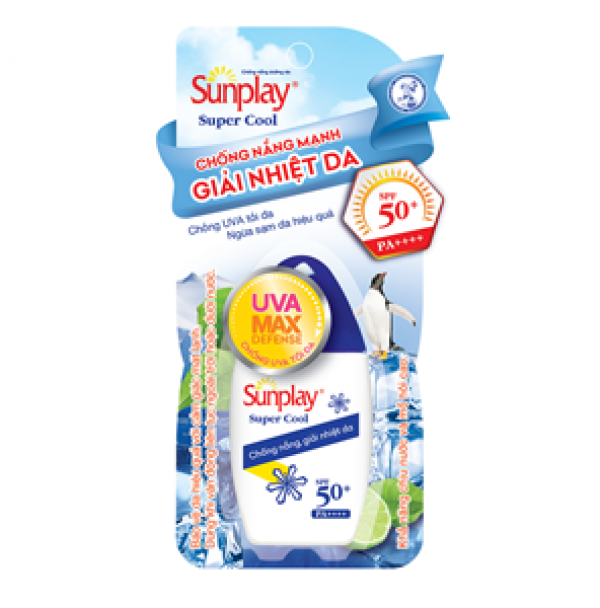 ROHTO Sunplay Super Cool SPF 50+ PA++++ 50 30г