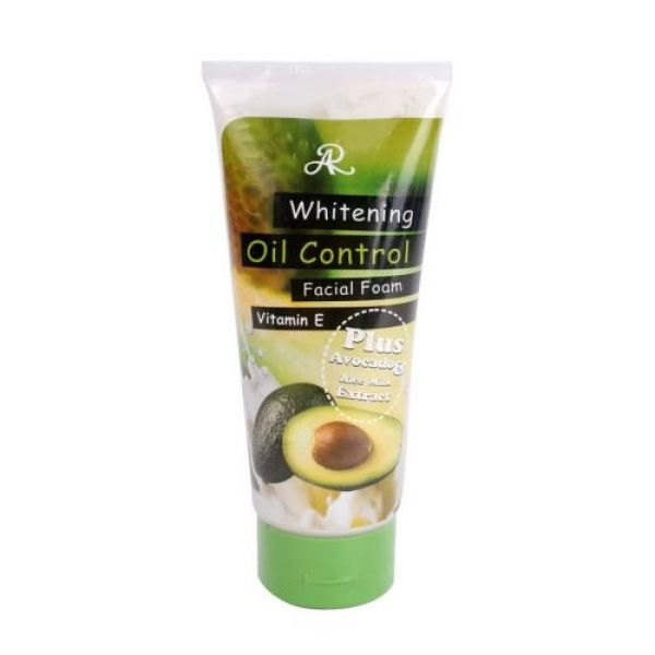 Aron Whitening OIL Control Facial Foam Plus Avocado 210г