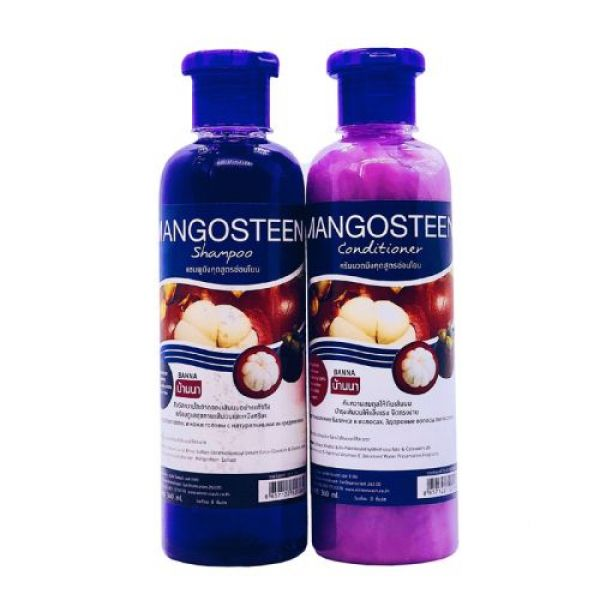 Mangosteen Shampoo&Condition 380ml+380ml