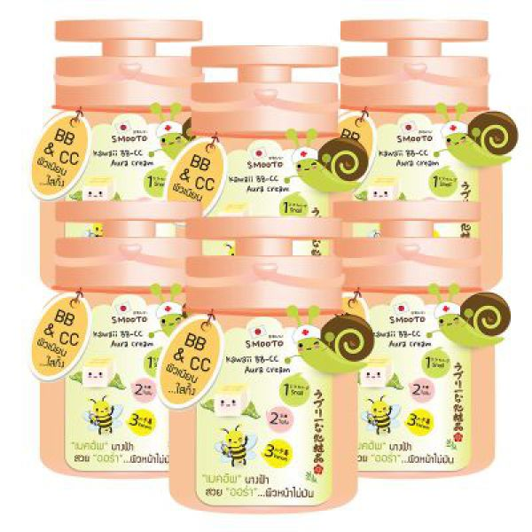 Smooto Kawaii BB-CC Aura Cream 7г