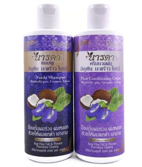 Narda Conditioner Butterfly Pea, Coconut & Litsea 250мл