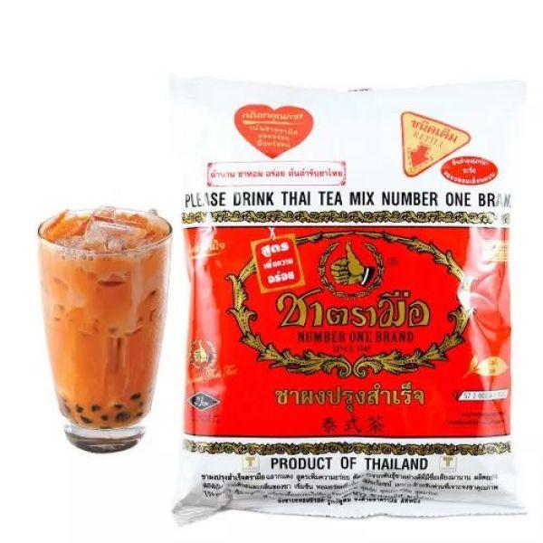 тайский черный чай