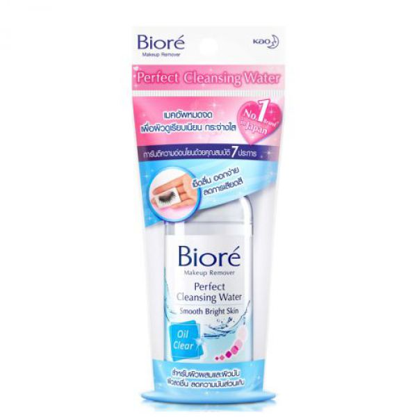 Biore Perfect Cleansing Water Oil Clear 90мл